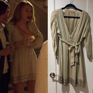 Alice + Olivia Grecian dress M Gossip Girl
